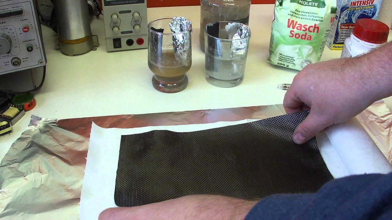 Carbon fiber sheet Aluminium foil Selfmade DIY High Output ...