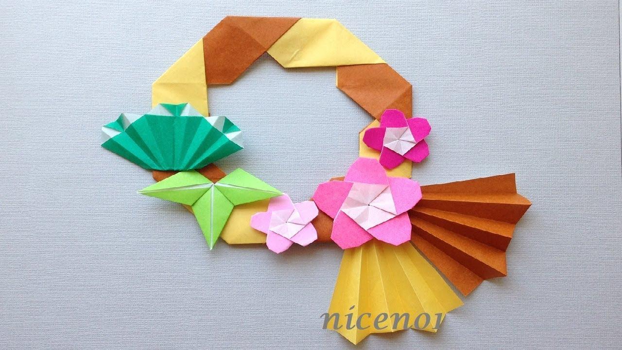 飾り 折り紙 正月