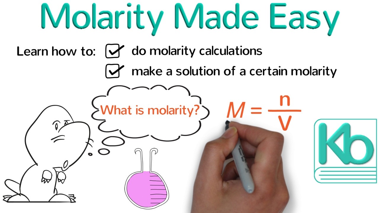 Molarity Made Easy How To Calculate Molarity And Make
