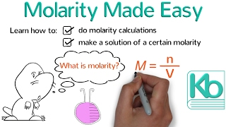 molarity made easy how to calculate molarity and make solutions