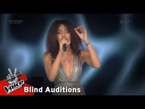 Δανάη Παναγιώτου - Εν λευκώ | 7o Blind Audition | The Voice of Greece