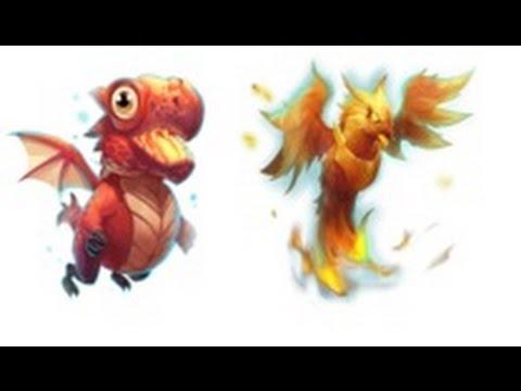 Castle Clash Pets Im Test   Drako Und Finix  