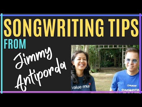 Songwriting Tips From Famous Songwriters like Jimmy Antiporda