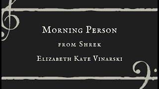 Morning Person - Elizabeth Kate Vinarski