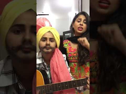 Berfi nal chah   cover song   ramneek and...
