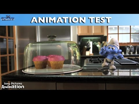 The Smurfs  Animation Test