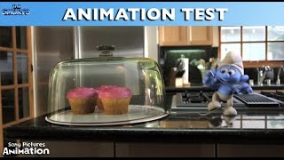 The Smurfs - Animation Test