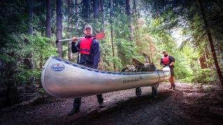7 Tage Survival Bushcraft Kanu Tour in Schweden #03