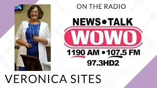 Live on the Radio in Fort Wayne | Veronica Sites
