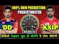 PREDICTION : [ MATCH 22 ] DD VS KXIP | PREDICTED PLAYING XI OF KXIP VS DD | IPL 11 PREDICTION