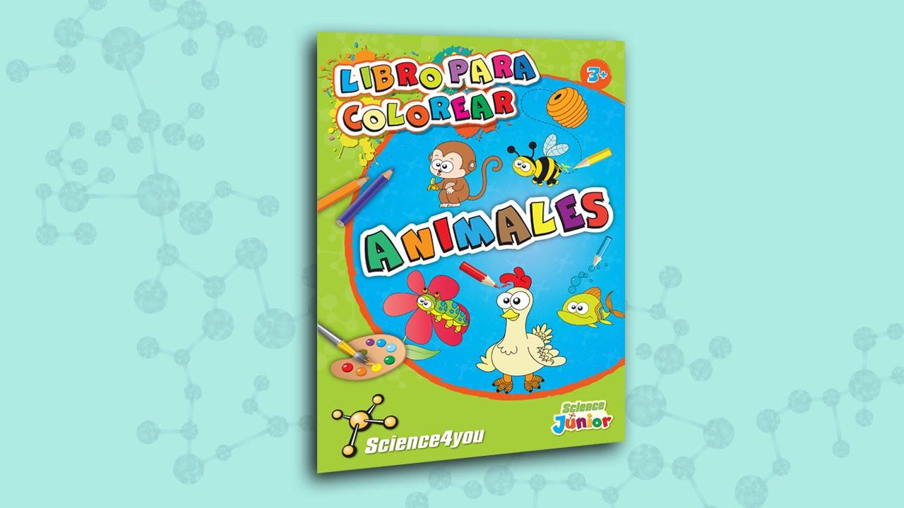 Science4you ES - Libro para colorear Animales - YouTube