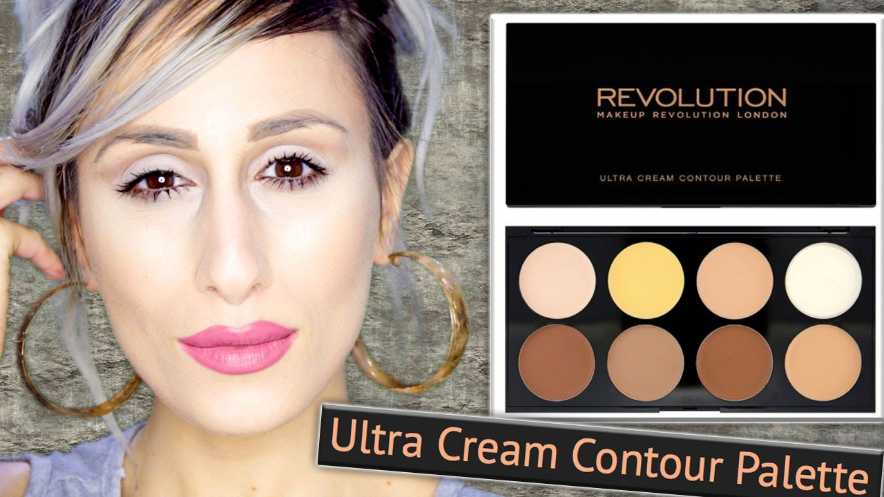 NEW! £8 MAKEUP REVOLUTION Ultra CREAM Contour Palette | REVIEW + ...