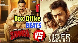Simmba Beats Tiger Zinda Hai At Box Office | Ranveer Is Biggest Star Than Salman? Video