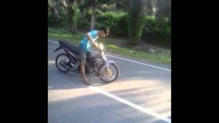 DCMS latihan drag bike kisaran part 2