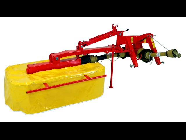 Galfre 130 Drum Mower Assembly Video