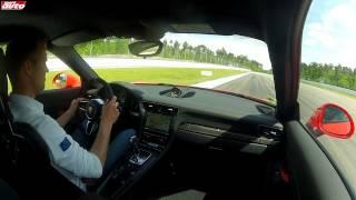 Porsche 911 (991) GT3 RS 300 km/h & Tracktest sport auto