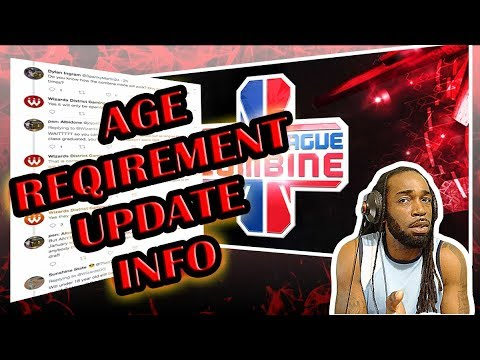 NBA 2K LEAGUE UPDATE ON AGE REQUIREMENT & COMBINE AVAILABILITY INFO NBA 2K18