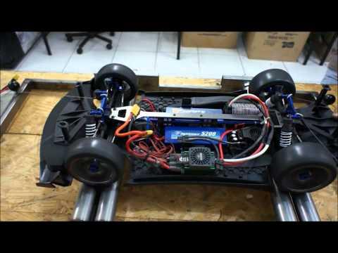 Rc dyno skyline r32 gtr drift turbo exhaust brembo brakes for Rc electric motor dyno