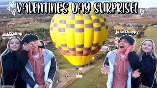 HIS VALENTINES DAY SURPRISE | Long distance relationship