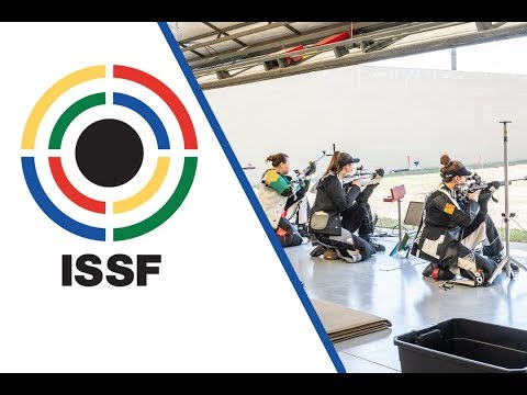 50m Rifle 3 Positions Women Final - 2018 ISSF World Cup Stage 3 in Fort Benning (USA)