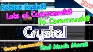 []NEW[] Roblox Exploit: Cryztal | FE, Games, Music Commands, Btools, FF, God And more!! 4 Sept 2017