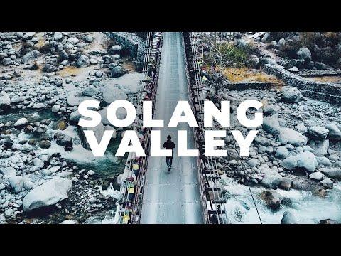 Solang Valley - Manali -  Drone Shots -  Himachal Pradesh Tourism
