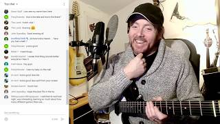 Live Song Writing Experiment! Song reveal ! What Now ?