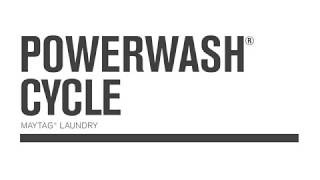 Maytag Washers with PowerWash Cycle MHW3500F-MHW5500F-MHW8200F-MVWB765F-MVWB835D-MVWB855D-MVWB955FC