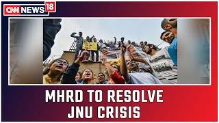 High Powered MHRD Panel To Resolve JNU Crisis   CNN News18