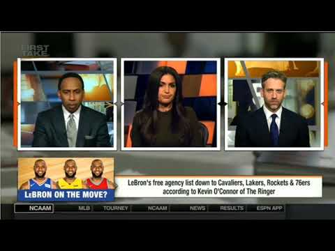 Should Lebron go to Lakers with Lonzo & Magic? (2018 NBA)
