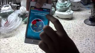 Captura de pantalla en LG® Optimus L5 II