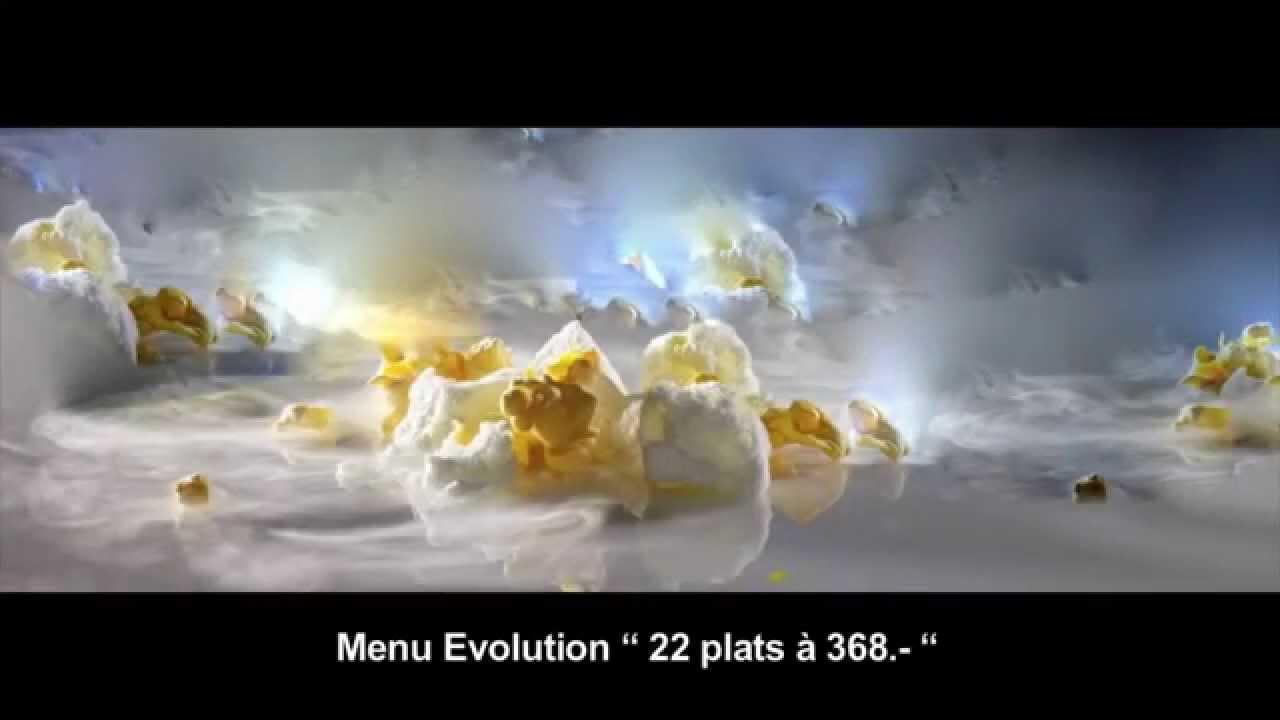 """la vraie cuisine moléculaire """" réfléchie """" au restaurant denis"""