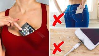 Đừng để điện thoại di động ở 10 nơi này nhé!