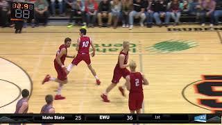 EWU MBB Highlights at Idaho State