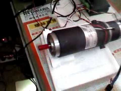 Dc Servo Motor Control By Mach3 Youtube