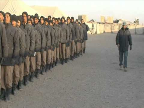 Afghan National Police Training