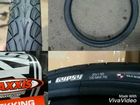 Ban Luar Maxxis Gypsy 20 x 150 untuk Sepeda Lipat Mini Bmx