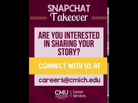 Intern Snapchat Takeover: OutREACH Student Interns