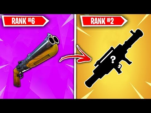 Top 10 VAULTED Fortnite Weapons Ranked WORST TO BEST!