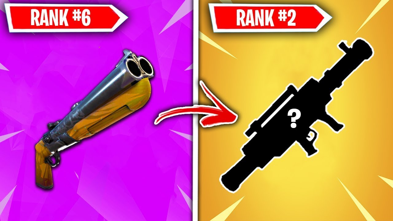 Top 10 Vaulted Fortnite Weapons Ranked Worst To Best Youtube