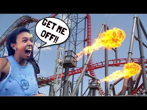 RIDING THE WORLDS SCARIEST ROLLER COASTERS!