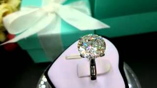 4 CT SONA Diamond Ring