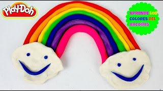 Aprende los Colores del Arco Iris con Play Doh | Learn the Rainbow Colors With Play Doh