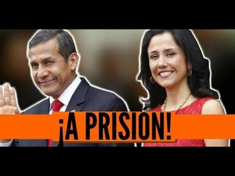 Ultimas noticias de PERU, OLLANTA HUMALA A LA CARCEL 13/07/2017