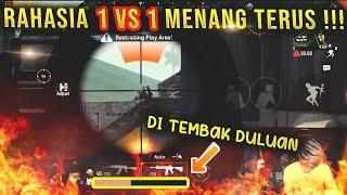 TIPS 1 VS 1 MENANG TERUS !! PAKAI TRIK INI !! PUBGM