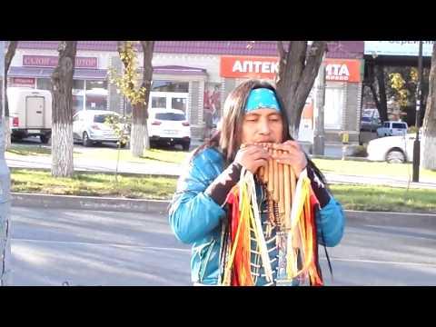 Индейцы из Эквадора в Астрахани  Now   Feel Alive