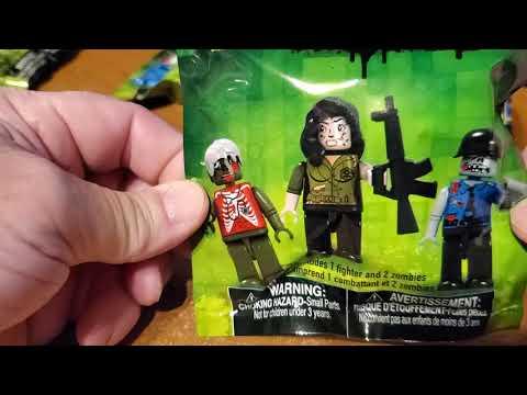 Dollar Tree Zombie Minifigs!