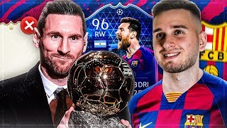 FIFA 20: TOTGS MESSI 96 SQUAD BUILDER BATTLE😱🔥