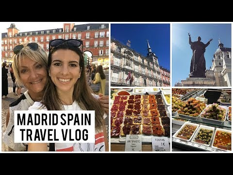 THINGS TO DO IN MADRID SPAIN | TRAVEL VLOG | 24 HOURS IN MADRID