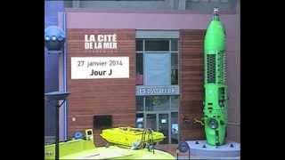 La Cité de la Mer Timelapse Deepsea Challenger